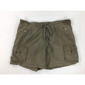 J Crew Womens 16 Green Cargo Shorts Favorite Fit